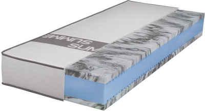 Gelschaummatratze »Smartsleep 5000 Gel«, Breckle, 23 cm hoch, Raumgewicht: 50, perfekte Druckentlastung, optimale Stützkraft - Ideal für Personen mit starker Transpiration