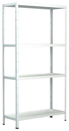 Steckregal »Haushaltsregal«, B/T/H: 75x35x180 cm