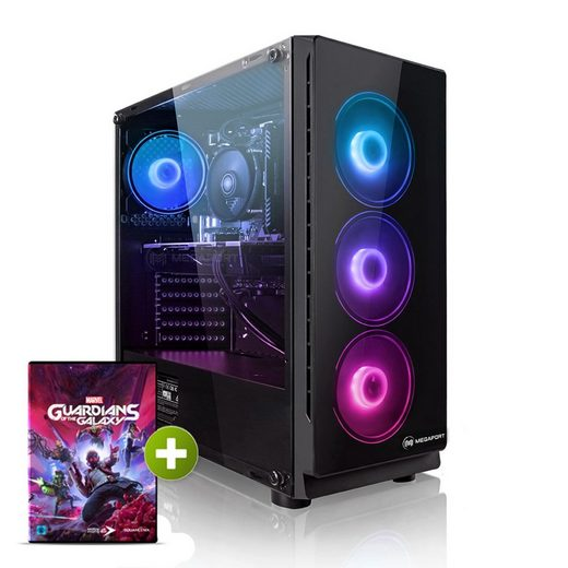 Megaport Gaming-PC (AMD AMD Ryzen 7 3700X, GeForce RTX 3060 12GB, 16 GB RAM, 1000 GB SSD, Windows 10, WLAN)