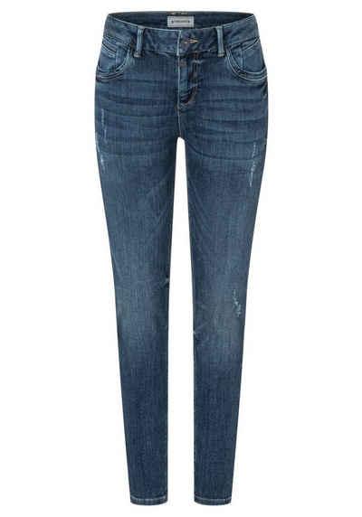 TIMEZONE Slim-fit-Jeans »Tight SanyaTZ« mit Stretch