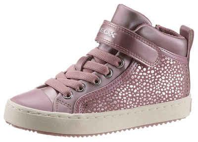 Geox Kids »J Kalispera Girl« Sneaker mit Glitzer-Dots