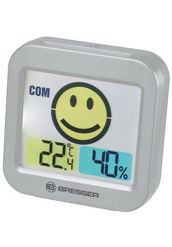 BRESSER Thermo- ir Hygrometer »Temeo Smile su ...