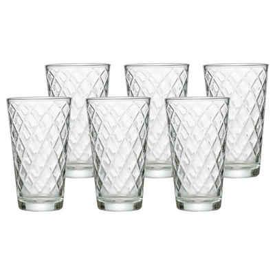 Ritzenhoff & Breker Glas »WELA Trinkglas 400 ml klar 6er Set«, Glas