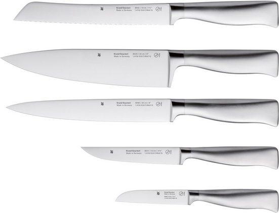 WMF Messer-Set »Grand Gourmet« (Set, 5-tlg), Damaststahl, Made in Germany