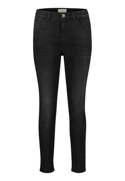 Cartoon 5-Pocket-Jeans »schmal geschnitten« Black denim