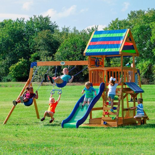 Backyard Discovery Spielturm »Northbrook«, BxTxH: 429x137x300 cm