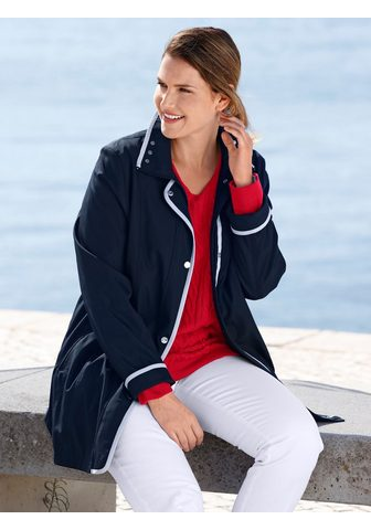 m. collection Outdoorjacke su kontrastfarbiger Paspe...