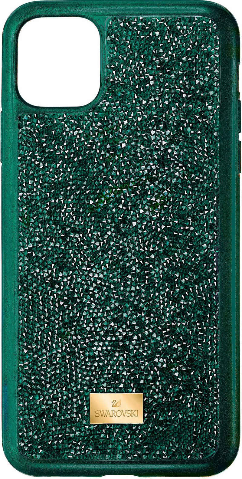 Swarovski Smartphone-Hülle »Glam Rock Smartphone Schutzhülle mit Stoßschutz, iPhone® 11 Pro Max, grün, 5552654« iPhone® 11 Pro Max, mit Swarovski® Kristallen