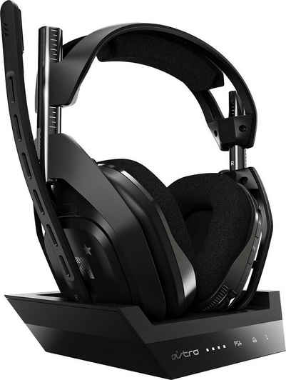 ASTRO »A50 Gen4« Gaming-Headset (Dolby Audio, für PS5, PS4, PC, Mac)