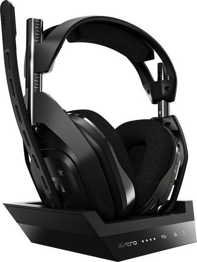 ASTRO »A50 Gen4« Gaming-Headset (Rauschunterdrückung, Dolby Audio, für PS5, PS4, PC, Mac)