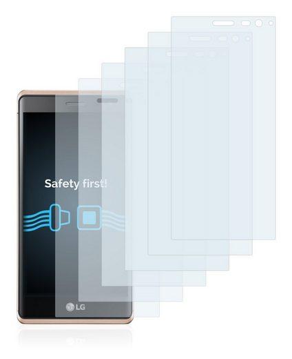 Savvies Schutzfolie »für LG Zero«, (6 Stück), Folie Schutzfolie klar
