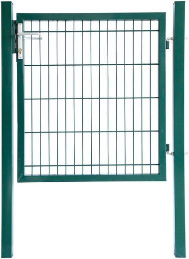 HOME DELUXE Zaun-Einzeltür 140 cm hoch, 1 m breit