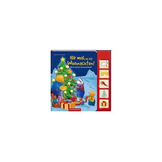 Coppenrath Hör mal, es ist Weihnachten!, Soundbuch mit Geräuschen