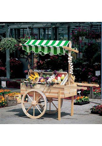 promadino Transportkarren »Marktwagen« B/T/H: 17...