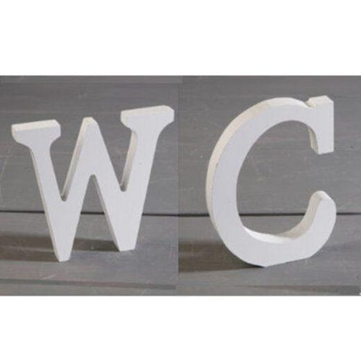 Masbekte Dekoobjekt »Deko-Buchstaben«, 3D Ornamente