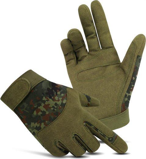normani Multisporthandschuhe »Fingerhandschuhe ARMY GLOVES Basic« Tactical Handschuhe Einsatzhandschuhe Outdoorhandschuhe