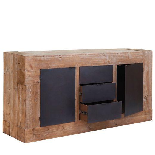 MCW Sideboard »MCW-A15«, Viel Stauraum, 3 geräumige Schubladen, Vielfältig einsetzbar