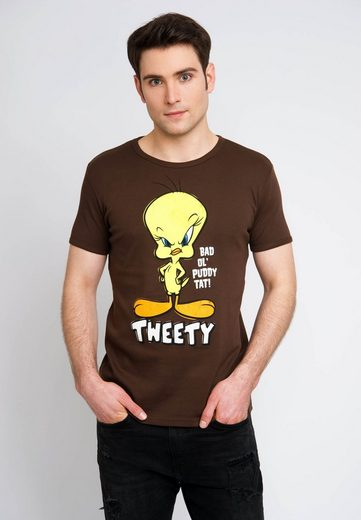 LOGOSHIRT T-Shirt mit Tweety-Frontprint