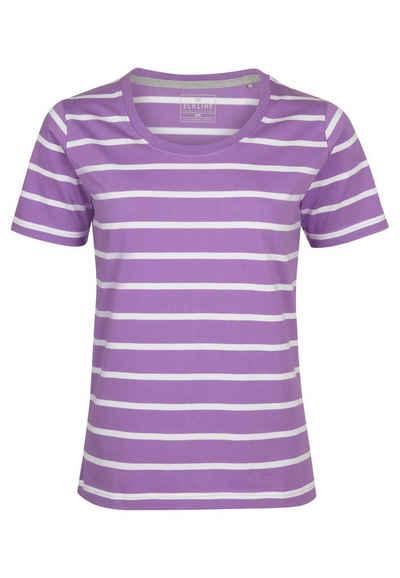 Elkline T-Shirt »Anna« Basic Streifen auf Bio-Baumwolle