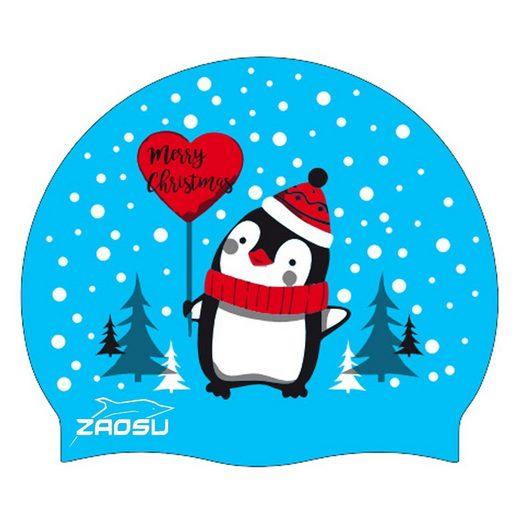 ZAOSU Badekappe »Merry Christmas Schwimmkappe«