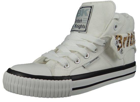 British Knights »B47-3703-01 Roco White/Leopard« Sneaker
