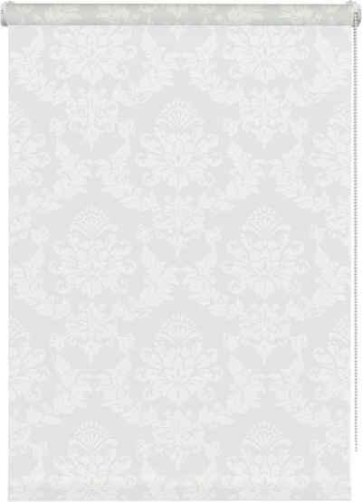 Seitenzugrollo »Ornament«, GARDINIA, Lichtschutz, ohne Bohren, freihängend, im Fixmaß
