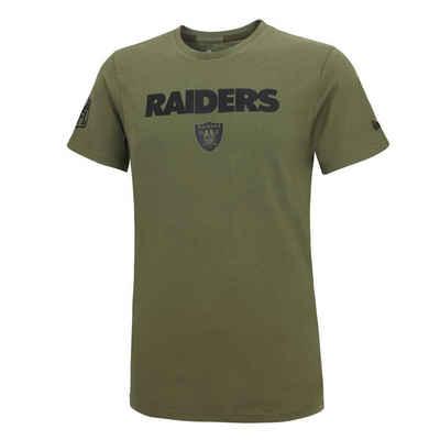 New Era Print-Shirt »New Era NFL OAKLAND RAIDERS Camo Wordmark T-Shirt«