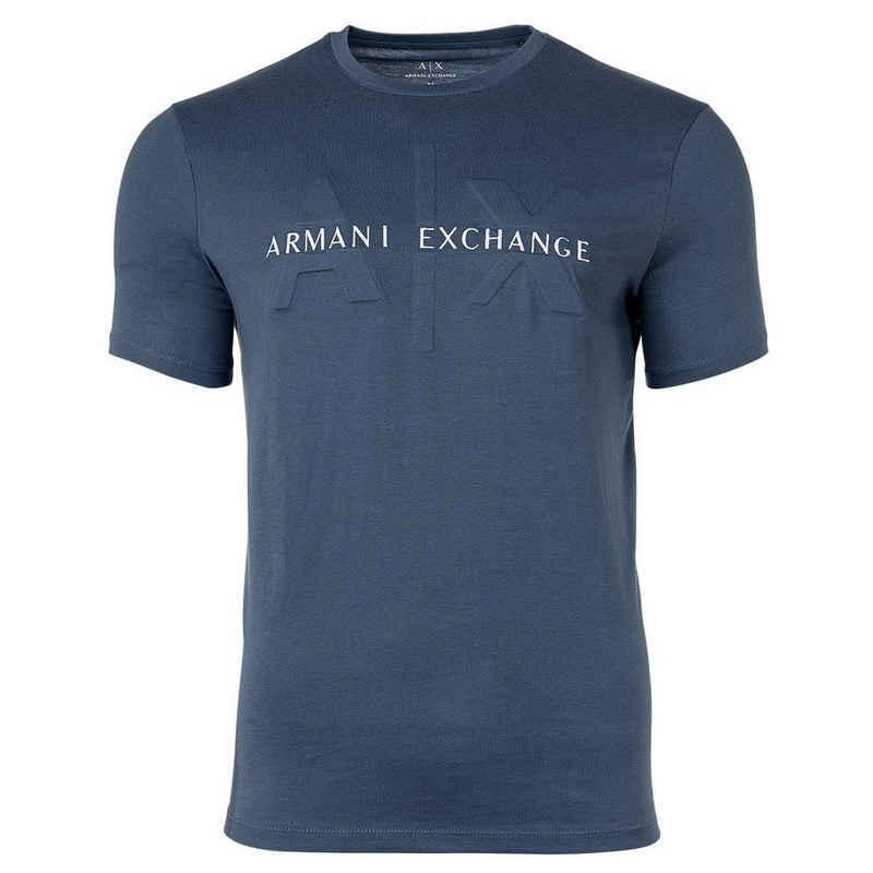 ARMANI EXCHANGE T-Shirt »Herren T-Shirt - Logo, Rundhals, Cotton Stretch«