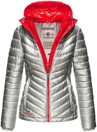 Marikoo Winterjacke »Leenjaa« mit zwei Kapuzen in unterschiedlichen Farben