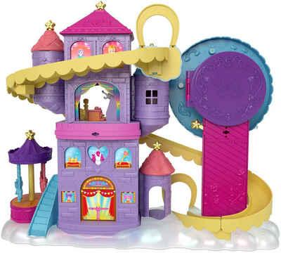 Mattel® Spielwelt »Polly Pocket, Pollyville Regenbogen-Einhornspaß Freizeitpark«