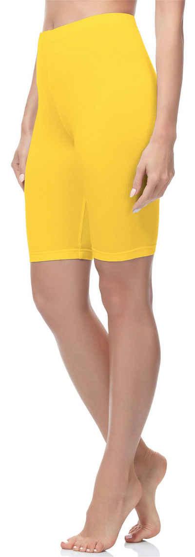 Merry Style Leggings »Damen Kurze Leggings aus Baumwolle MS10-200« (1-tlg) elastischer Bund