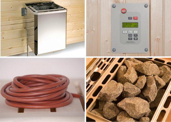 WEKA Set: Bio-Kombiofen »BioS«, 9 kW, externe Steuerung, inkl. Zubehör