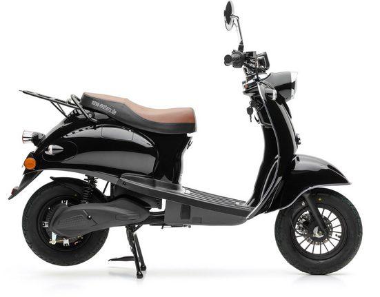 Nova Motors E-Motorroller »eRetro Star schwarz«, 45 km/h, (Packung)