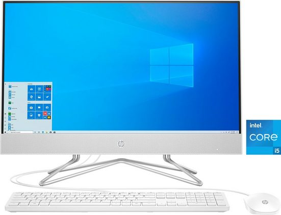 HP Pavilion 24-df1200ng All-in-One PC (23,8 Zoll Intel Core i5 1135G7, Iris® Xe Graphics, 8 GB RAM, 256 GB SSD, Luftkühlung)