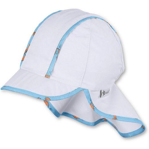 Sterntaler® Sonnenhut »Schirmmütze mit Nackenschutz für Jungen«