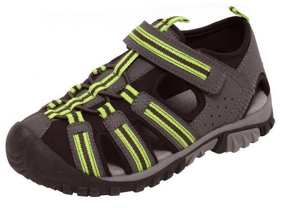 Zapato Outdoorsandale Kinder Sport Outdoor Sandalen Sommersandalen Schuhe Klettverschluss grau grün