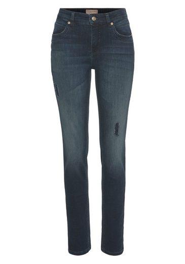 MAC Destroyed-Jeans »SM Mel« Klassicher Schnitt von MAC mit Sylvie Meis