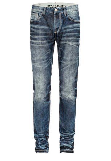 Cipo & Baxx Bequeme Jeans »Justice« im Regular Fit