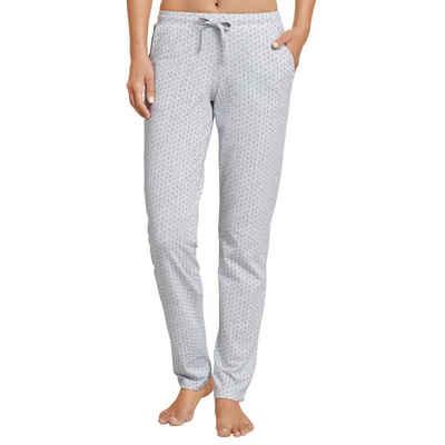 Schiesser Schlafhose »Mix & Relax« Schlafanzug Jersey Hose lang - Mit Seitentaschen, Angenehm auf der Haut, Schlafanzüge zum selber mixen