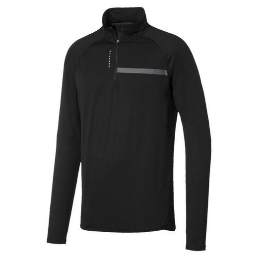 PUMA Trainingspullover »Running Herren IGNITE Half Zip Langarm-Shirt«