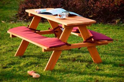 dobar Kindersitzgruppe, Picknicktisch, BxTxH: 79x89x50 cm, für 4 Kinder