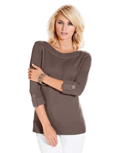 Casual Looks 3/4 Arm-Pullover