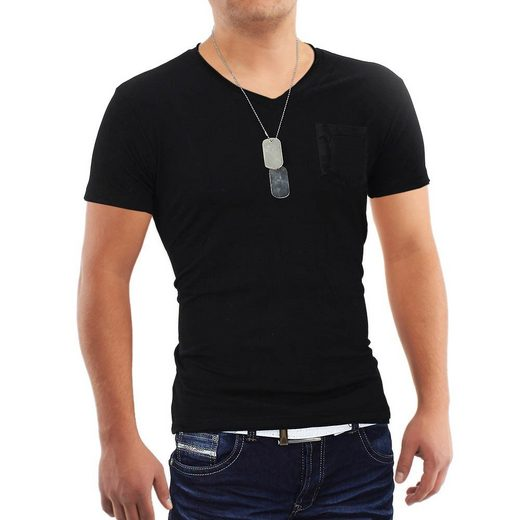 Egomaxx T-Shirt »1026« T-Shirt Pocketbull