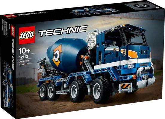 LEGO® Konstruktions-Spielset »LEGO® Technic 42112 Betonmischer-LKW«