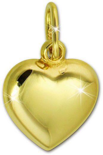 GoldDream Kettenanhänger »GDH000Y GoldDream Herz Anhänger Gelbgold« (Kettenanhänger), Herzanhänger 375 Gelbgold - 9 Karat, Farbe: gold