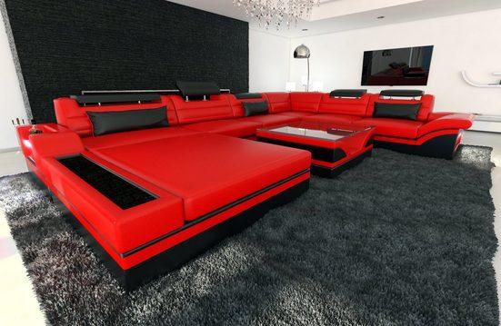 Sofa Dreams Sofa »Mezzo«, U Form XXL