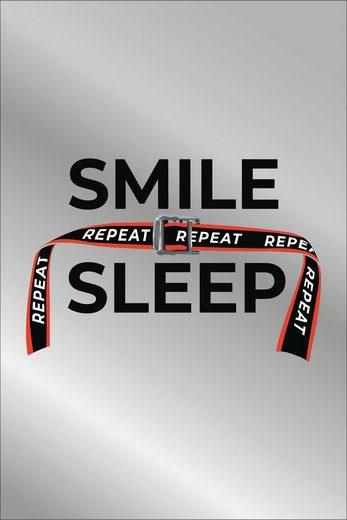 Dekospiegel »Smile sleep«