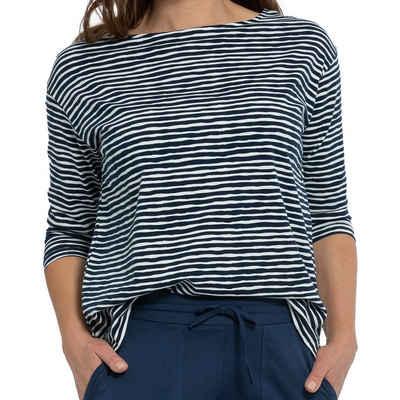Mey Pyjamaoberteil »Night2Day Abbi Shirt 3/4 Ärmel« Weich und elastisch, Lockerer Schnitt, Einfach mit der passenden Hose kombinieren
