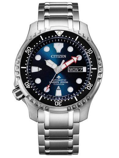 Citizen Automatikuhr »NY0100-50ME«, Promaster Marine Mechanical Diver