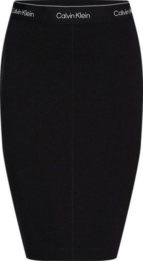 Calvin Klein Jerseyrock »MILANO SKIRT« mit Calvin Klein Log-Schriftzug Elastikbund